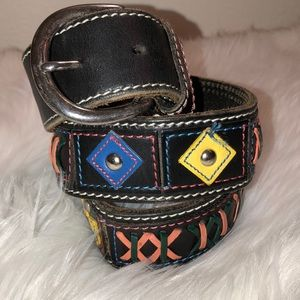 GAP Black Leather Belt very good condition